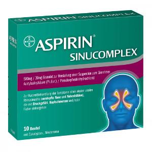Aspirin Sinucomplex von Bayer