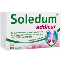 SOLEDUM addicur bei Nasennebenhöhlenentzündung, zur unterstützende Behandlung
