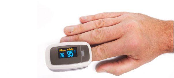 Pulsoxymeter für zu Hause