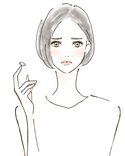 Kontaktlinsen und Fieber