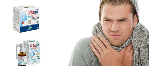 Golamir schützt den Hals