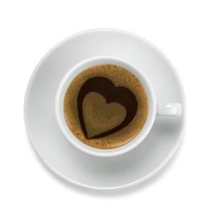 Medikamente und Kaffee