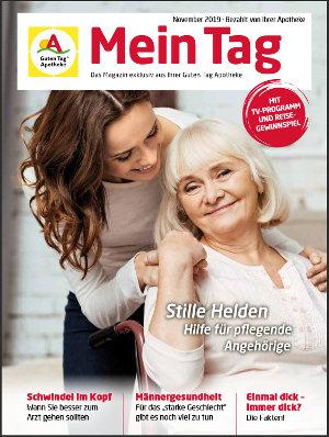 Kundenmagazin: Mein Tag, November 2019