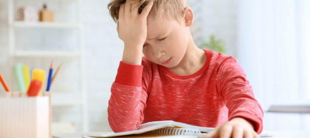 Migräne: Kinder mit Kopfschmerzen