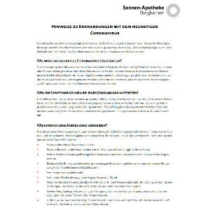 Patienteninfo-Coronavirus