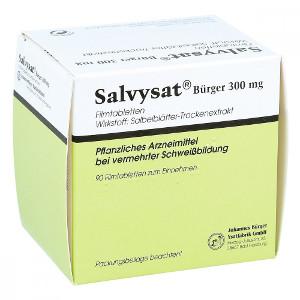 Salvysat zur Anwendung bei vermehrter Schweißbildung